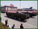 Hwasong-5 short range ballistic missile technical data sheet specifications information description video pictures photos images intelligence identification intelligence North Korea Korean army defence industry military technology 8x8 truck