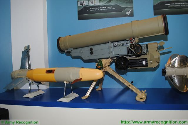 Metis-M1 9K115-2 anti-tank guided missile KBP Russia Russian army defense industry 640 001