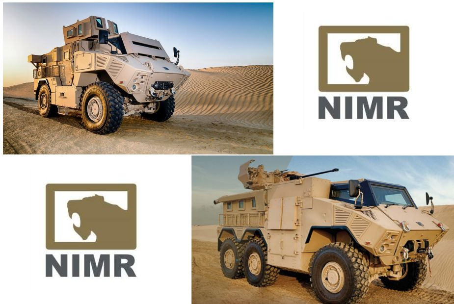N35 Class 4x4 6x6 mine protected armoured vehicle NIMR Automotive UAE United Arab Emirates defense industry 925 001