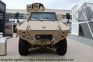 JAIS 4x4 modular MRAP Mine Resistant Ambush Protected Vehicle APC NIMR Automotive UAE front view 001
