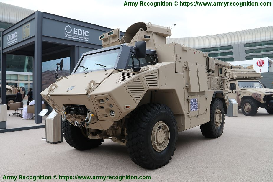 JAIS 4x4 mine protected motorised infantry armoured vehicle UAE United Arab Emirates NIMR Automotive industry 925 001