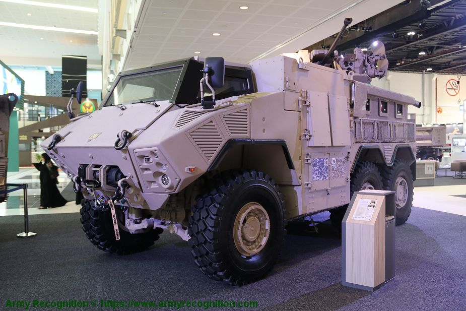 JAIS 6x6 modular MRAP Mine Resistant Ambush Protected Vehicle APC NIMR Automotive UAE 925 001
