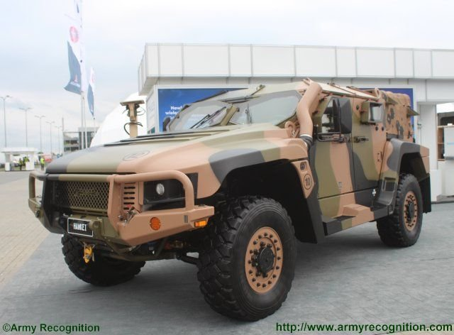 Thales promotes its hakwei Light Protected Vehicle in Poland 640 001