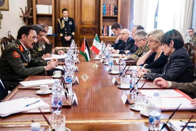 Defence agreement signed between Italy and the Hashemite Kingdom of Jordan 640 001