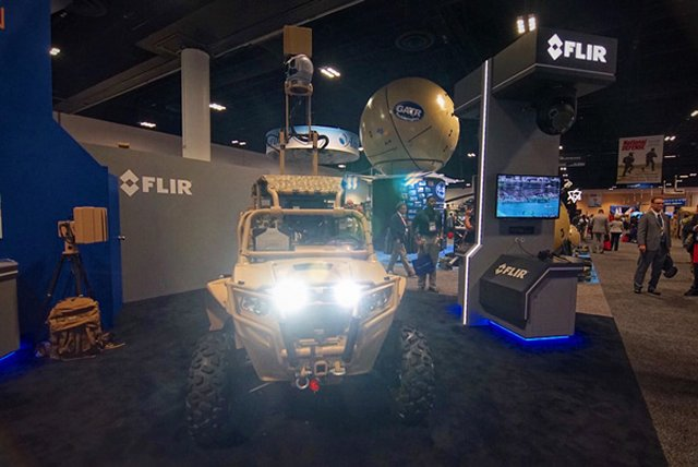 FLIR launches Light Tactical Vehicle with FLIR Portable Radar 640 001