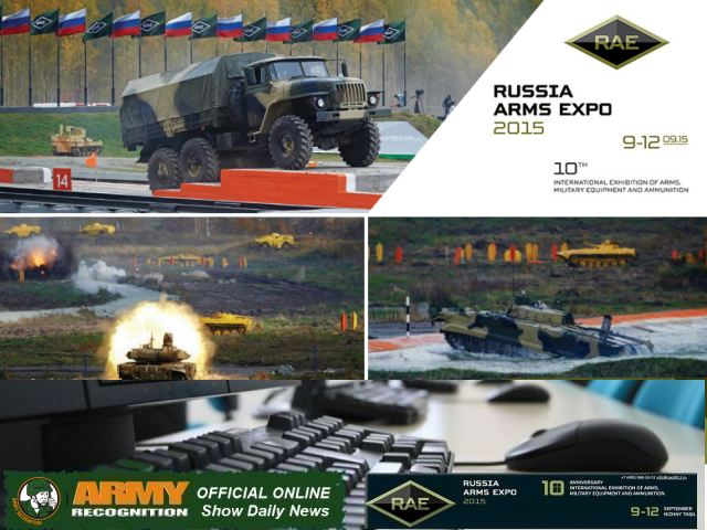 Army Recognition Official Online Show Daily RAE 2015 Russian Arms Expo International exhibition of arms military equipment 640 001