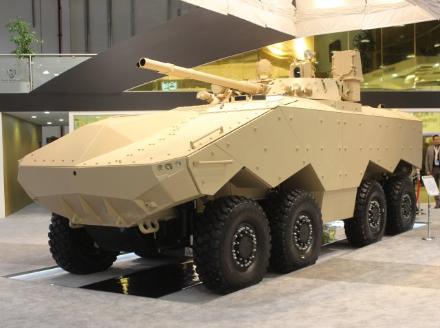 New 8x8 armored vehicle Enigma unveiled at IDEX 2015 640 001