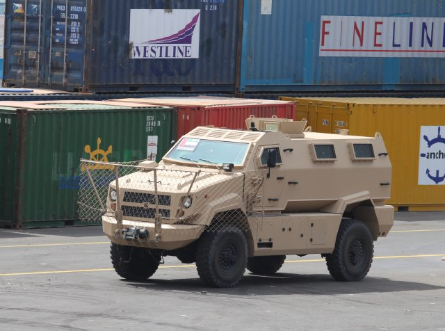 Streit Group showcased Typhoon 2 Armored Personnel Carrier during IDEX 2015 Live Demo 640 001