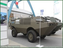 At MSPO 2013, International Defense Exhibition in Poland, AMZ unveiled a new concept vehicle, the BOBR. This vehicle conceived for speed is a new lightweigt transport vehicle amphibious as well as its cousin the 8x8 Hipopotam.