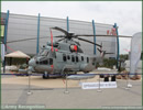 At MSPO 2013, International Defense Exhibition in Poland, Eurocopter showcases its EC725 Caracal. The helicopter displayed belongs to the French Army Eurocopter hopes to sell 70 helicopters to the Polish Army and is competing with Sikorski UH-60 Black Hawk and AgustaWesland AW149.
