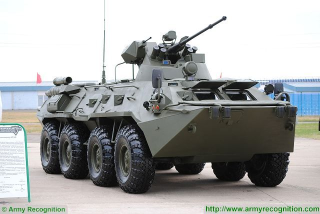 Ministry of Defense from Russia will get 323 BTR-82AM armoured personnel carrier in 2016-2018 640 001