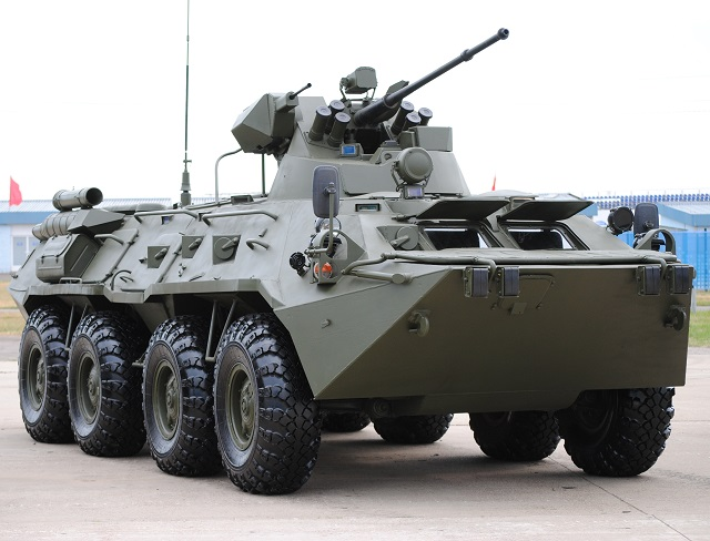 Russias BTR-82A APCs to integrate new thermal imager in October 001