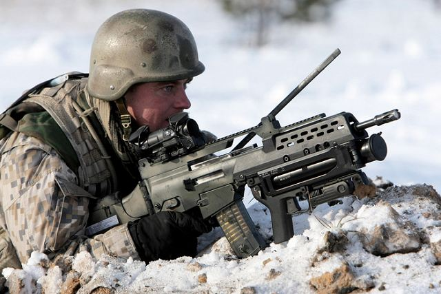 Lithuania MoD to acquire a new batch of German G-36 assault rifles and HK269 grenade launchers 640 002