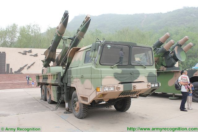 HQ-12 KS-1A mobile surface to-air defense missile system China Chinese army PLA military equipment 001