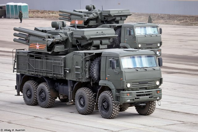 Arctic version of the Pantsir SA air defense systems to be fielded at the end of this year 640 001