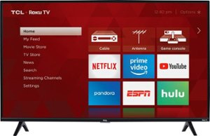 """TCL - 40"""" Class - LED - 3-Series - 1080p - Smart - HDTV Roku TV - Front_Zoom"""