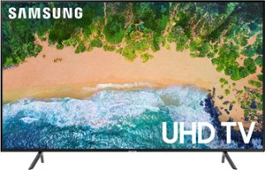 """Samsung - 40"""" Class - LED - NU7100 Series - 2160p - Smart - 4K UHD TV with HDR - Front_Zoom"""