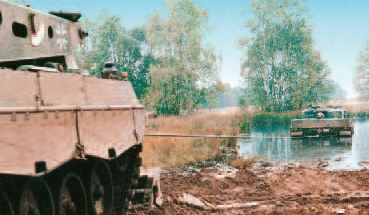 Winch recovery system military armoured vehicle Rotzler designer producer manufacturer distributor Germany German Defense Industry market army security rescue