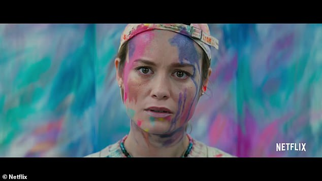 Own venture: Brie Larson has added another string to her bow, with her directorial debut in the flick Unicorn Store - which was finally released to Netflix viewers on Friday