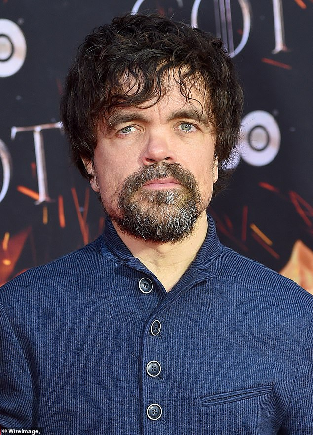 Throne premiere: Peter Dinklage posed with his wife of nearly 14 years, Erica, at the Game of Thrones premiere in New York City on Wednesday