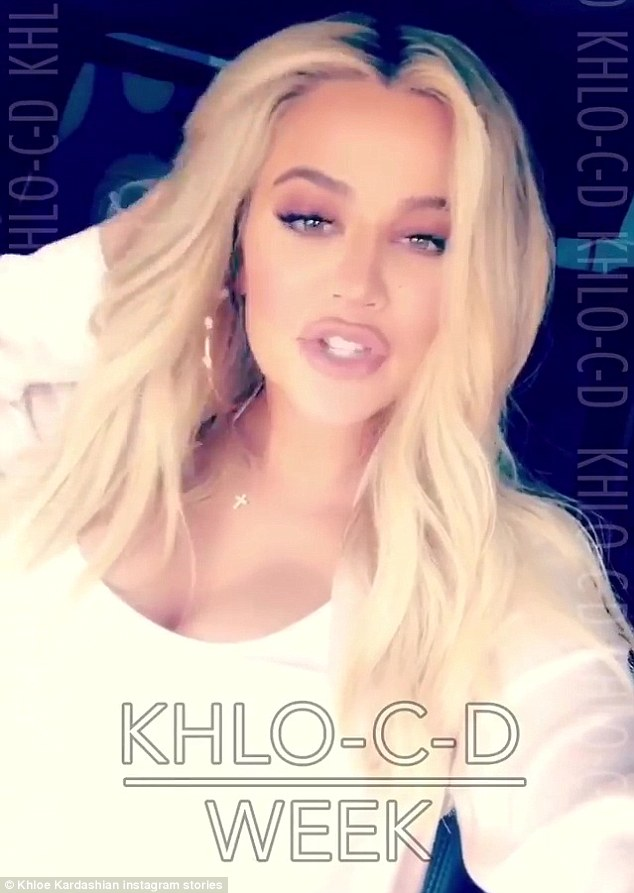 'Khlo-C-D': Khloe, who is expecting Cleveland Cavalier Tristan Thompson's baby, wrote a post for her app entitled: 'I Ranked My Sisters From Most Organized To Messiest'