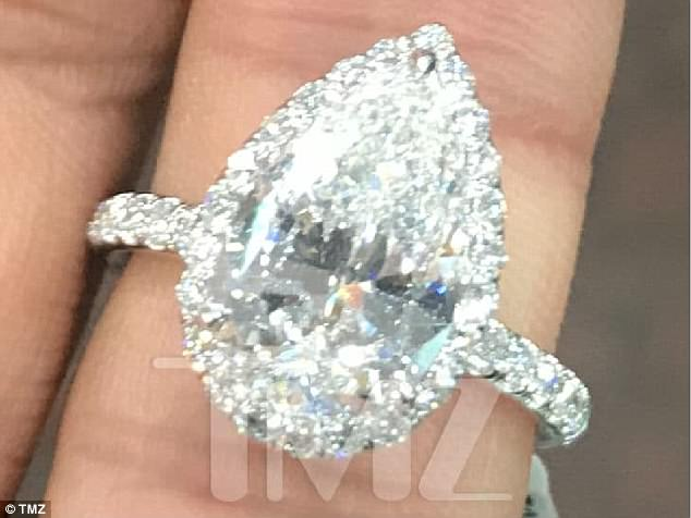 She said yes! Last week it was revealed that Pete had proposed to the popstar with a 3ct diamond sparkler estimated to have cost $93,000