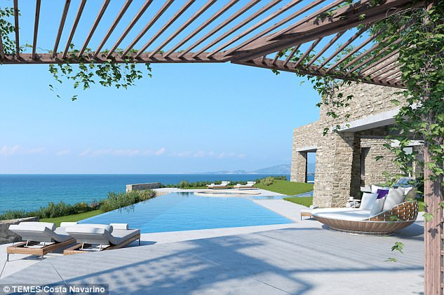 Understated luxury: Designer infinity pools and uninterrupted views of the sea