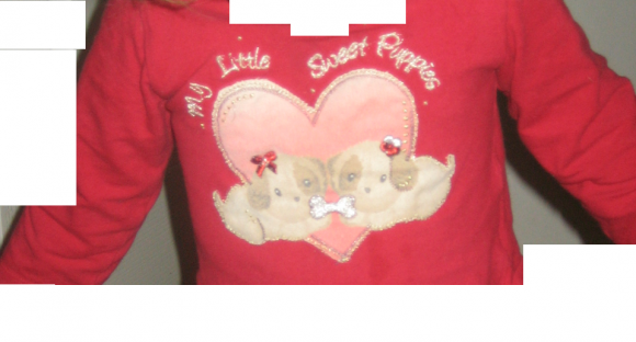Can you recognise this baby girl's shirt?