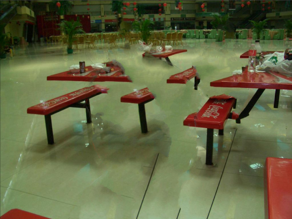 Do you know where this food court is located?