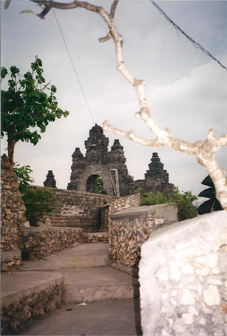 The Sea Temple of Pura Luhur at Uluwatu in south Bali dates back to the 11th century.