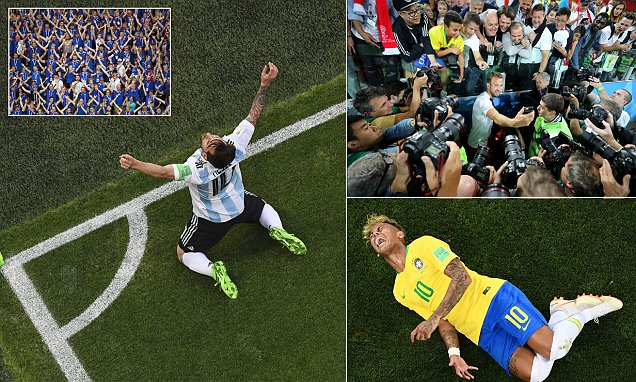 World Cup picture special: Sportsmail picks 30 of the most iconic images
