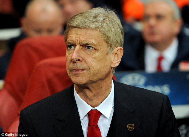 Weighing up his options: Arsenal manager Arsene Wenger could move to bolster his strikeforce in January