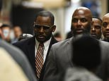 Musician R. Kelly arrives at the Daley Center for a hearing in his child support case on Wednesday, May 8, 2019, in Chicago. (AP Photo/Matt Marton)