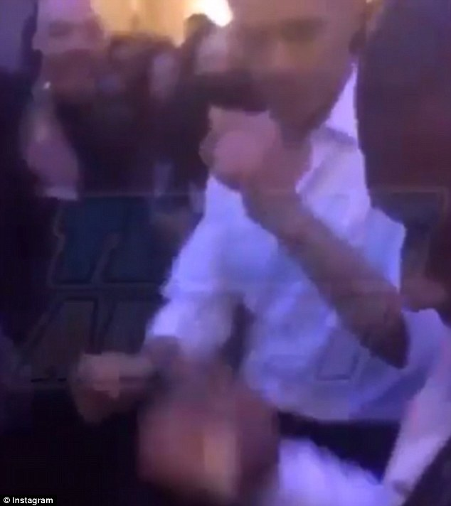 The President shimmied, sashayed and shuffled, mimicking Drake's signature 'dad dancing' moves which became an internet sensation when he released the song last year