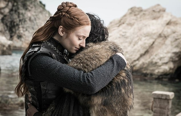 Fate:Bran was named king of the six kingdoms, Sansa (Turner) became Queen in the North while Arya (Maisie Williams) headed out to explore unknown territory