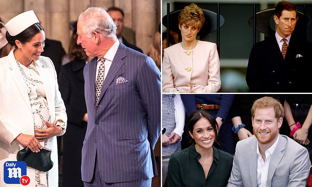 'Sensitive' Prince Charles is telling Meghan and Harry to 'soldier on' in face of their