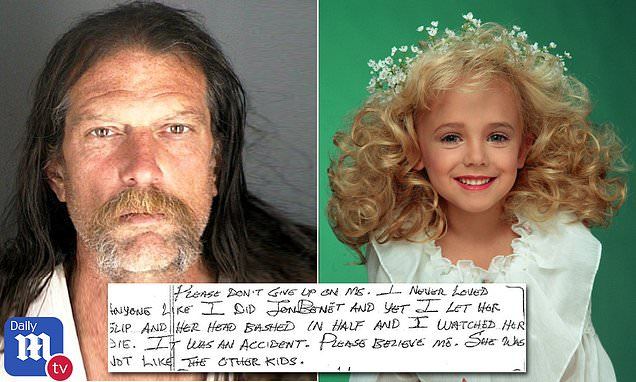Pedophile Gary Oliva confesses to killing JonBenét Ramsey by accident