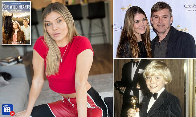 Actor Ricky Schroder's fitness model daughter, 22, says she was 'paralyzed' in her