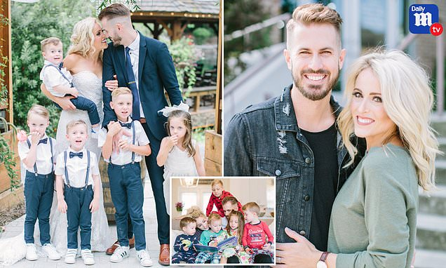 Mother-of-three and father-of-two whose spouses died one month apart marry each other