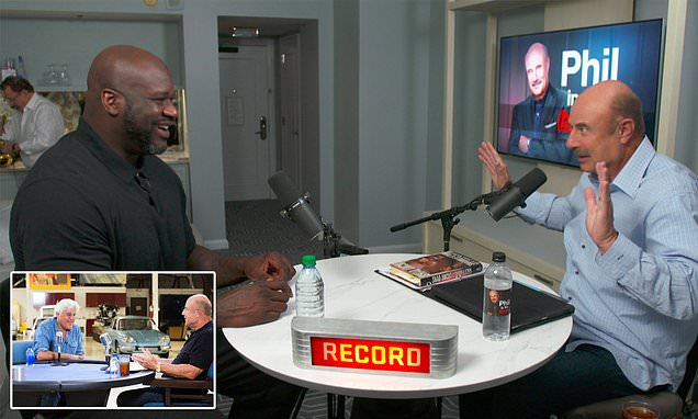 Dr Phil launches podcast 'Phil in the Blanks' Shaquille O'Nea, Jay Leno unlock secrets of