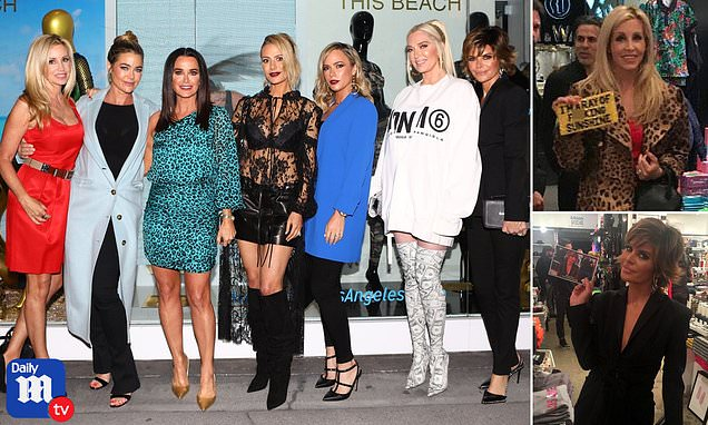 DoritKemsley and Real Housewives of Beverly Hills roll eyes at mention of Lisa Vanderpump