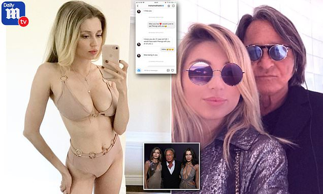 Aspiring model, 25, reveals she had a three-year affair with Mohamed Hadid