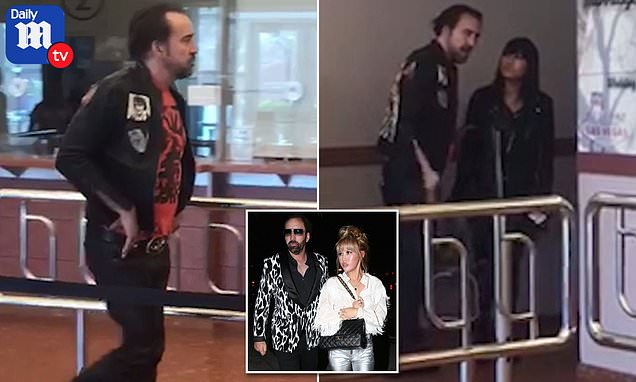 'Drunk' Nicolas Cage makes a scene while applying for marriage license with girlfriend