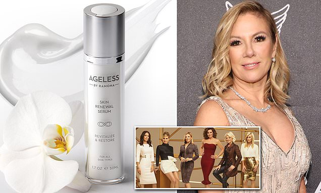 RHONY star Ramona Singer launches affordable anti-aging serum AGELESS by Ramona