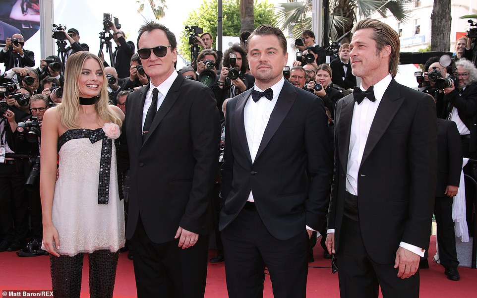 Big night: The stars were out in force for the biggest premiere of this year's Cannes Film Festival so far