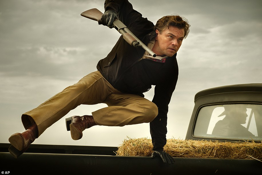Leonardo DiCaprio stars as a self-pitying TV actor in Tarantino's new movie, which takes viewers back to Hollywood's Golden Era