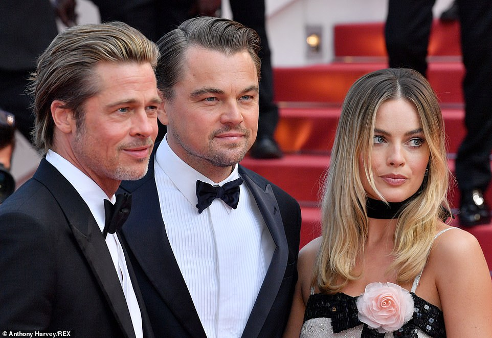 Exciting: Once Upon A Time In Hollywood is the first team-up for Leonardo and Brad on the big screen, and the second time Leonardo has appeared alongside Margot after 2013's The Wolf Of Wall Street