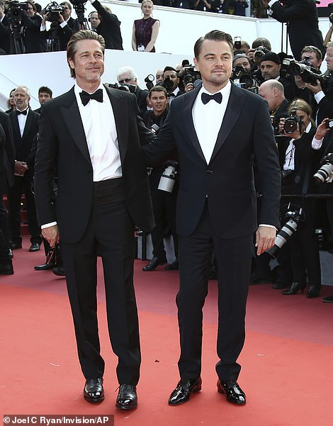 Sophisticated: This will be both Brad and Leonardo's second collaboration with Tarantino