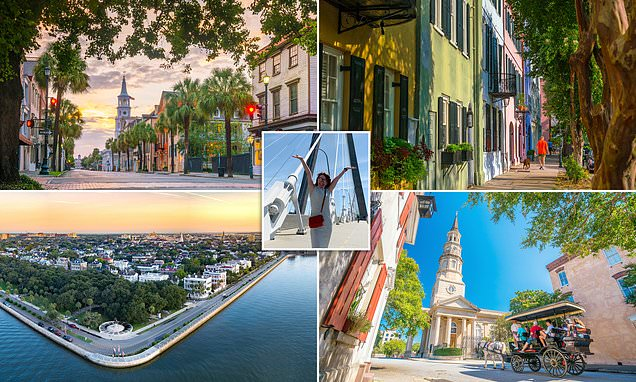 Kay Burley discovers the joys of Charleston thanks to direct BA Dreamliner flights from