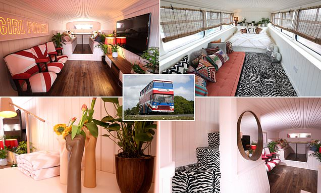 Original bus from the Spice Girls movie has been converted into a £99-a-night Airbnb